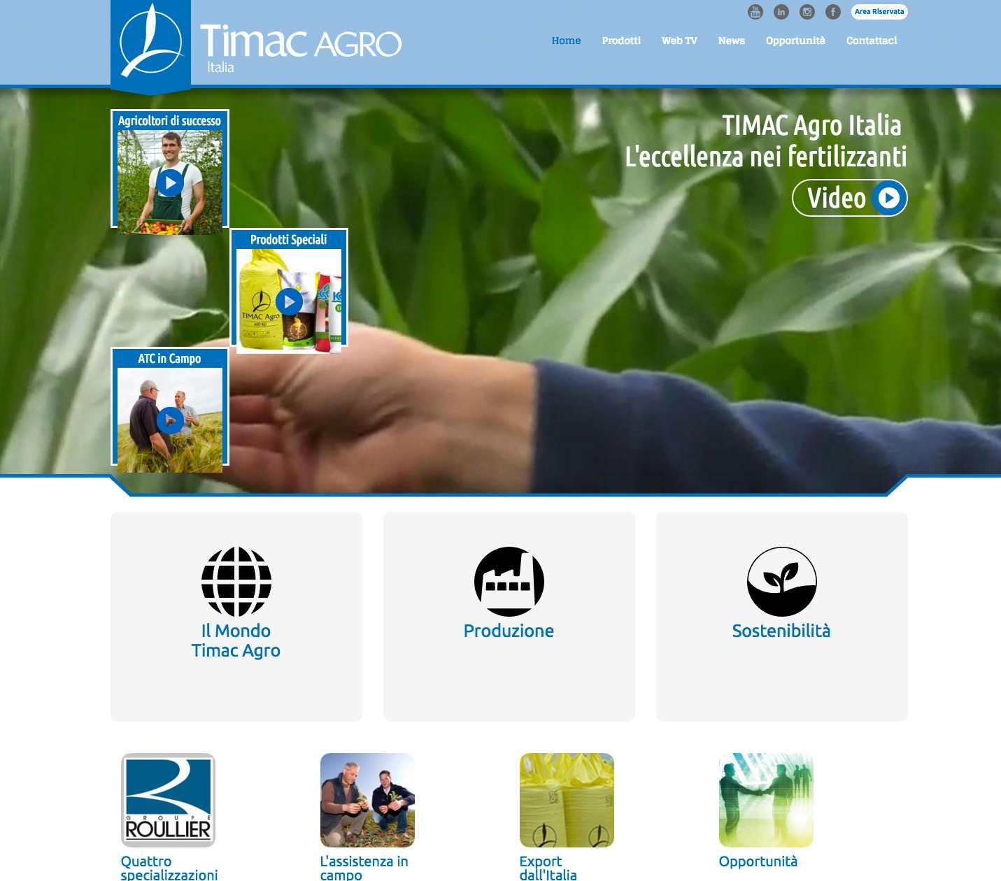 Timac-HomePage