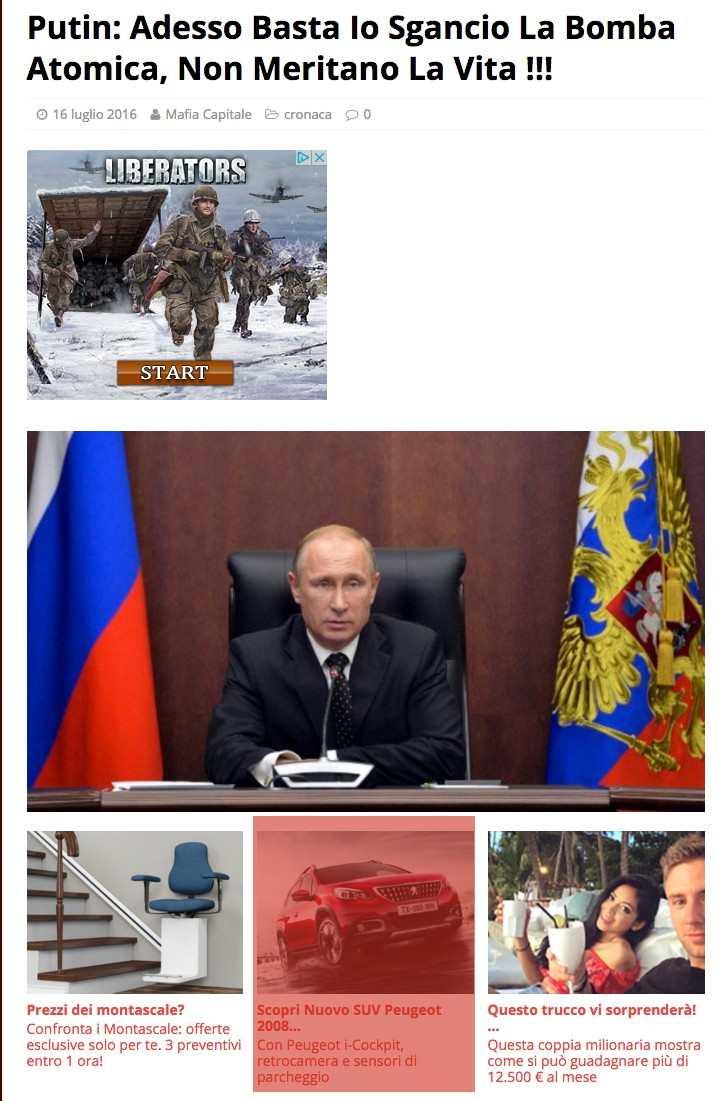 Fake-news Putin 2